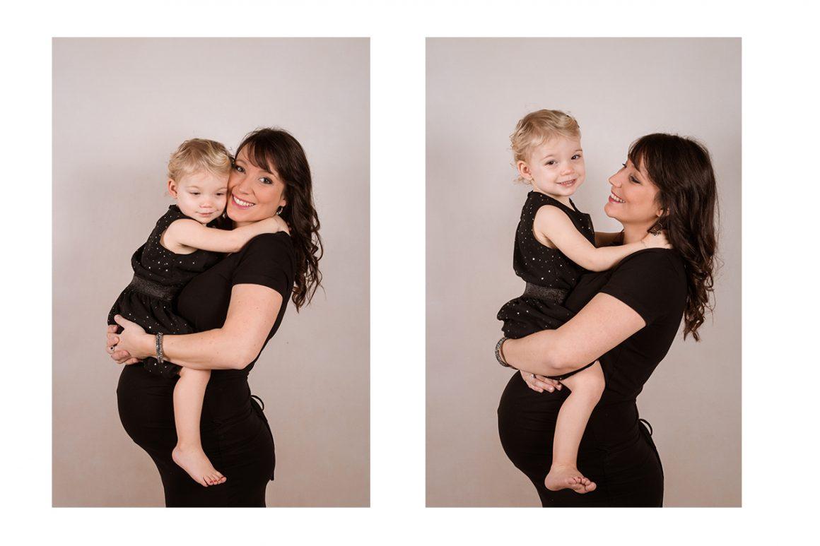 Kelly Fosse Photographie grossesse studio pas-de-calais